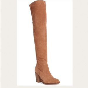 Kelsi Dagger Brooklyn Suede Over the Knee Boot